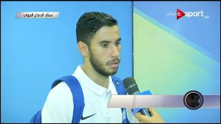 لقاء مع ناصر ماهر لاعب سموحة عقب التعادل مع بيراميدز