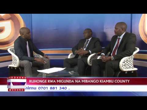 Ministry Of Lands Housing And Physical Planning Kiambu County Sam Muiruri Interview.