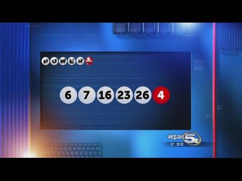 Winning Numbers In Million Powerball Jackpot