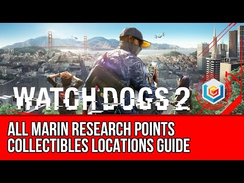 Watch Dogs 2 All Marin Research Points Collectibles Locations Guide