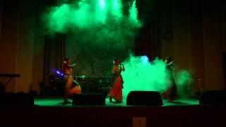 dance  (akash chhute ami chai) -  trisha, mimu, riana