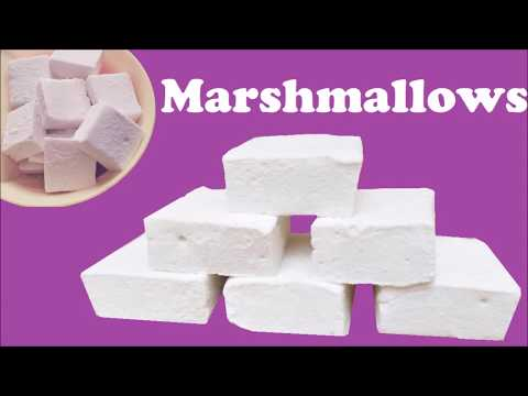 Marshmallow Recipe L Easy Homemade Marshmallow Recipe | WIthout Corn Syrup Marshmallow Recipe
