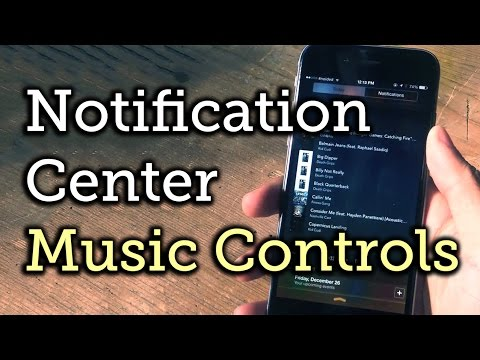 Play Your Music Library Directly from the Notification Center on iOS 8 [How-To]