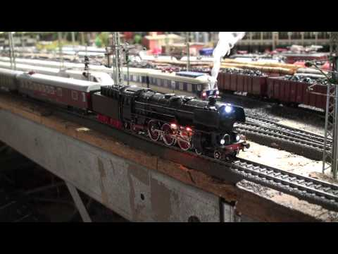 Steam, Diesel & Electric with SOUND: Märklin Modelleisenbahn Anlage, Marklin Modeltrain Layout