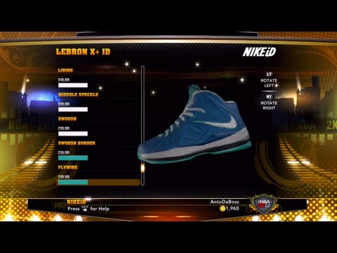 NBA 2k13 Career Mode - Unboxing The LeBron 10's Ep.27