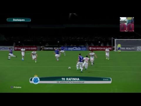 São Paulo vs Cruzeiro - Campeonato Brasileiro Virtual - Wanted Games