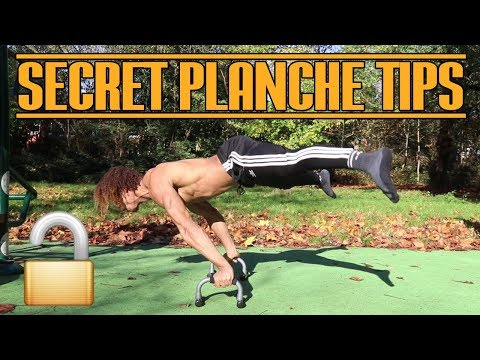 How to Planche - Top 3 Exercises to...