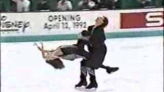 Repeat youtube video 1992 Worlds, FD, Marina Klimova & Sergei Ponomarenko