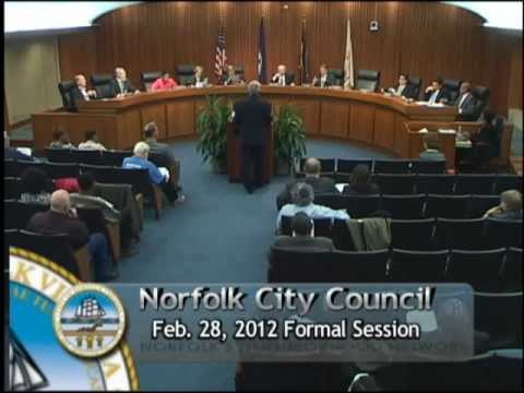 Formal 02/28/12 Session - Norfolk City Council