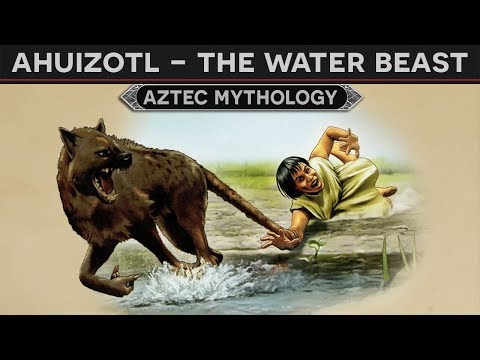 Ahuizotl - The Water Beast (Aztec Mythology)