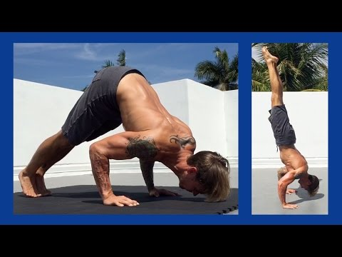 Pike Push-Up Tutorial: Learning the Handstand Push-Up - YouTube