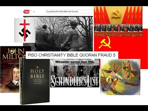Piso Christ fraud 5 Holocaust new messianic and elite author input