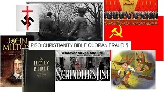 Piso Christ fraud 5 Holocaust new messianic and elite author input