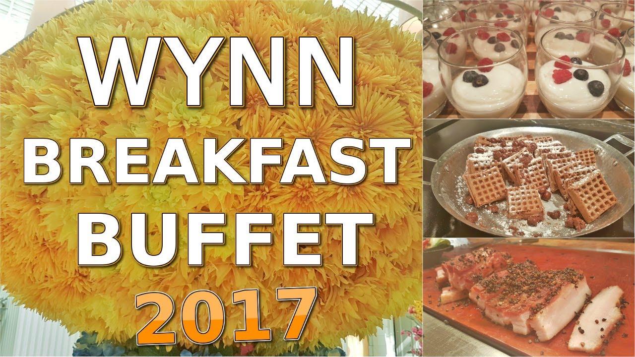 wynn las vegas breaksfast buffet 2017 youtube rh youtube com breakfast buffet wynn menu breakfast buffet wynn menu