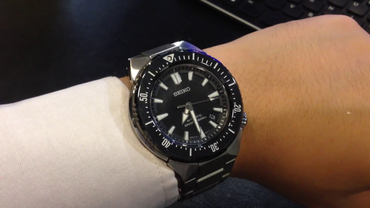 This Is How The Seiko Transocean Sbdc039 Dive Watch Would Look On My Prospex Sbdc029j Shogun Titanium Wrist