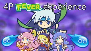[Puyo Puyo Champions] 4 Player Fever Experience