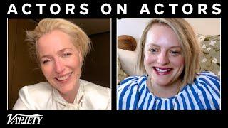 Elisabeth Moss & Gillian Anderson on 'Handmaid's Tale' and Margaret Thatcher | Actors on Actors