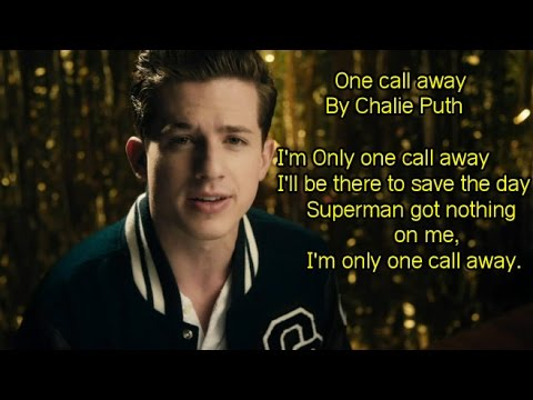 One call away, Chalie puth (official Music) Lyrics Mp3