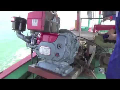 MARINE DIESEL ENGINE MERK JIANG DONG TIPE JD 39