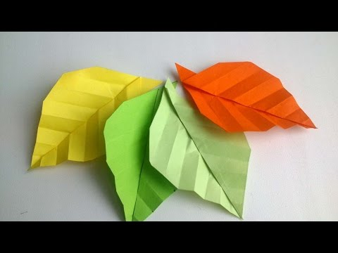 How To Make Origami Autumn Leaves - DIY Crafts Tutorial - Guidecentral