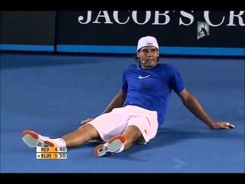 Federer bắt chước cú Thuận tay của Nadal - DancoSport.com