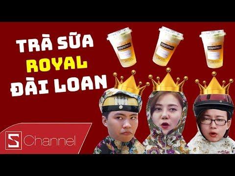 HÔM NAY ĂN GÌ - Trà sữa Royal Đài Loan KEM PHÔ MAI: Vị tuyệt ngon khiến Ninja cũng chết thèm!