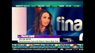 CNBC-e Cafe Finans Programı Konuğu Gençlik Ödülü Başkan Yardımcısı Pelin Akın
