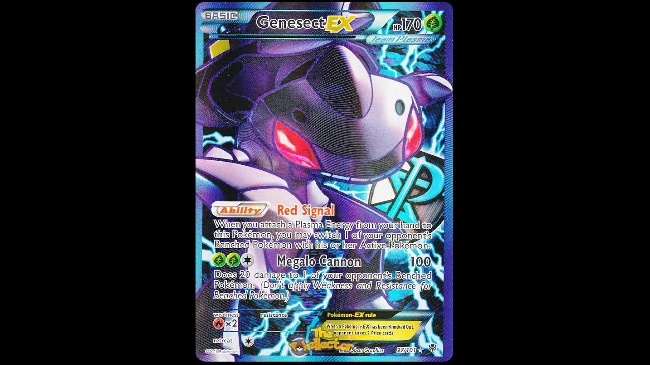 Pokemon tcg online viewing my team plasma genesect deck youtube - Carte pokemon team plasma ...