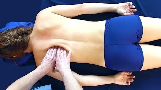 Basic Back Massage Therapy Techniques for Relaxation & Back Pain Relief