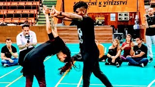 Wow! Brazilian Zouk Dance by Walter Fernandes & Mari Loiola & Joao | Prague Zouk Festival 2019