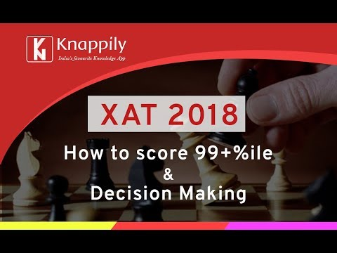 XAT 2018 Strategy Session | Decision Making