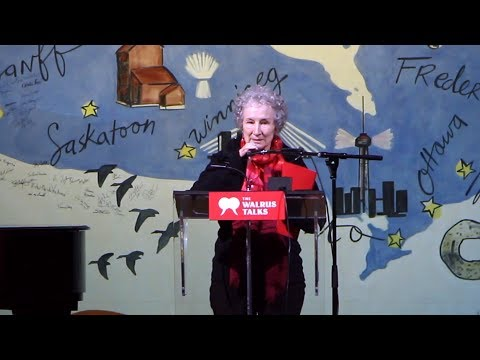 The Next 50 years of Canadian Writing | Margaret Atwood | Walrus Talks