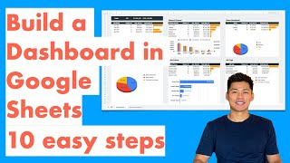 How To Create A Dashboard In Google Sheets 10 Steps - Query Formula