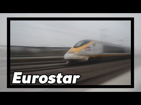 Eurostar Passes TGV Haute-Picardie With 300 Km/h! [HD]