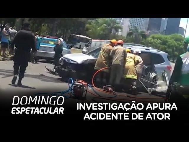 Investigação quer apurar o que causou o acidente de Caio Junqueira