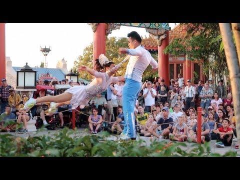 Food and Wine Festival & Jeweled Dragon Acrobats! Epcot Vlog! Walt Disney World Vacation