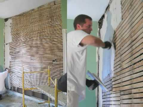 Getting Plastered Restoring A Victorian Wall Youtube