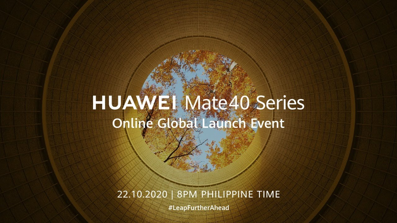HUAWEI Mate40 Series Online Global Launch Event
