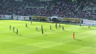 Basel Fans in St.Gallen 6 Mai 2018