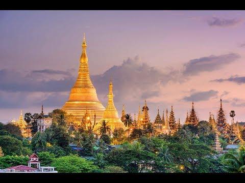 Shwedagon Pagode in Yangon - Myanmar 2018