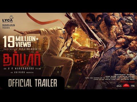 DARBAR (Tamil) - Official Trailer | Rajinikanth | AR Murugadoss | Anirudh Ravichander | Subaskaran
