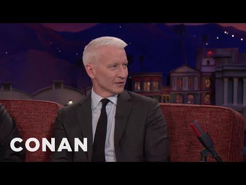 Anderson Cooper Teaches Conan About Haitian Culture  - CONAN on TBS