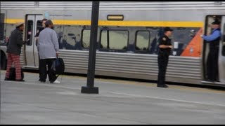 Unruly Passengers Kicked Off Amtrak Train In Modesto, California