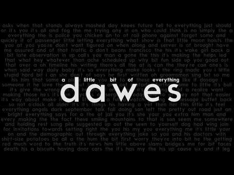 A Little Bit of Everything - Dawes - Lyrics