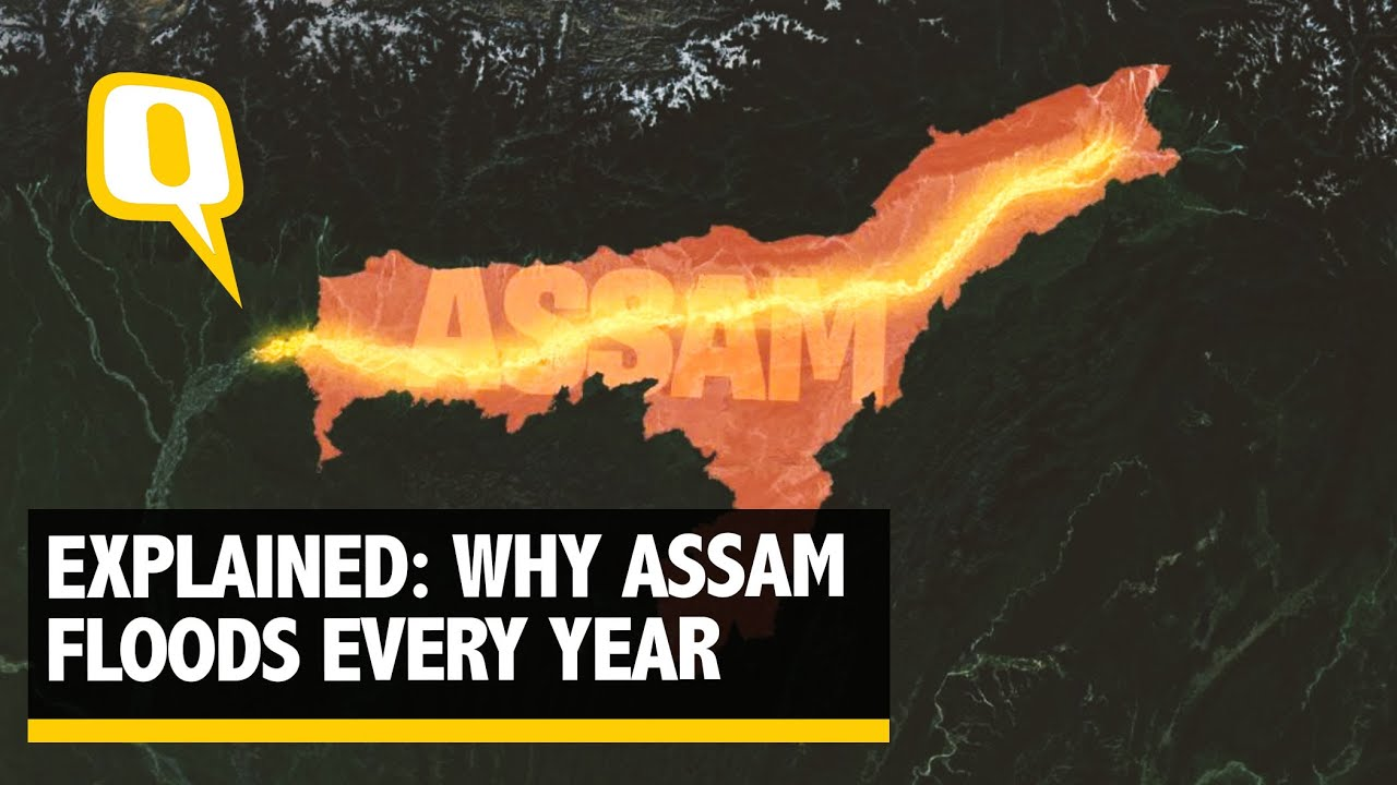 Why Assam Floods Every Year: Of Brahmaputra, Climate Change & More | The Quint
