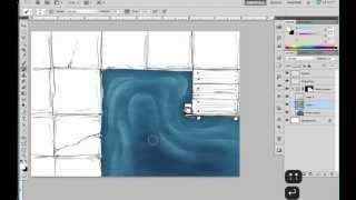 How to draw water on battlemaps