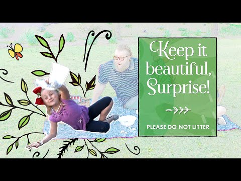 Keep It Beautiful Surprise • Don't Litter video thumbnail
