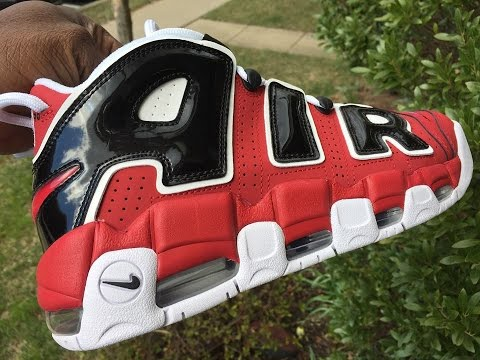 pretty nice 477f7 53a1b Quick Look At The Nike Air More Uptempo 96 Bulls Red 921948-600