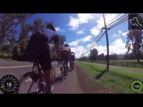 2016 Oahu Island Perimeter Group Bike Ride