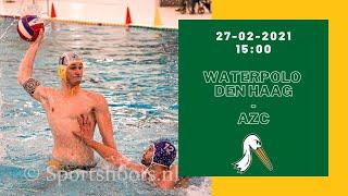 Waterpolo Den Haag - AZC (Eredivisie beker waterpolo)